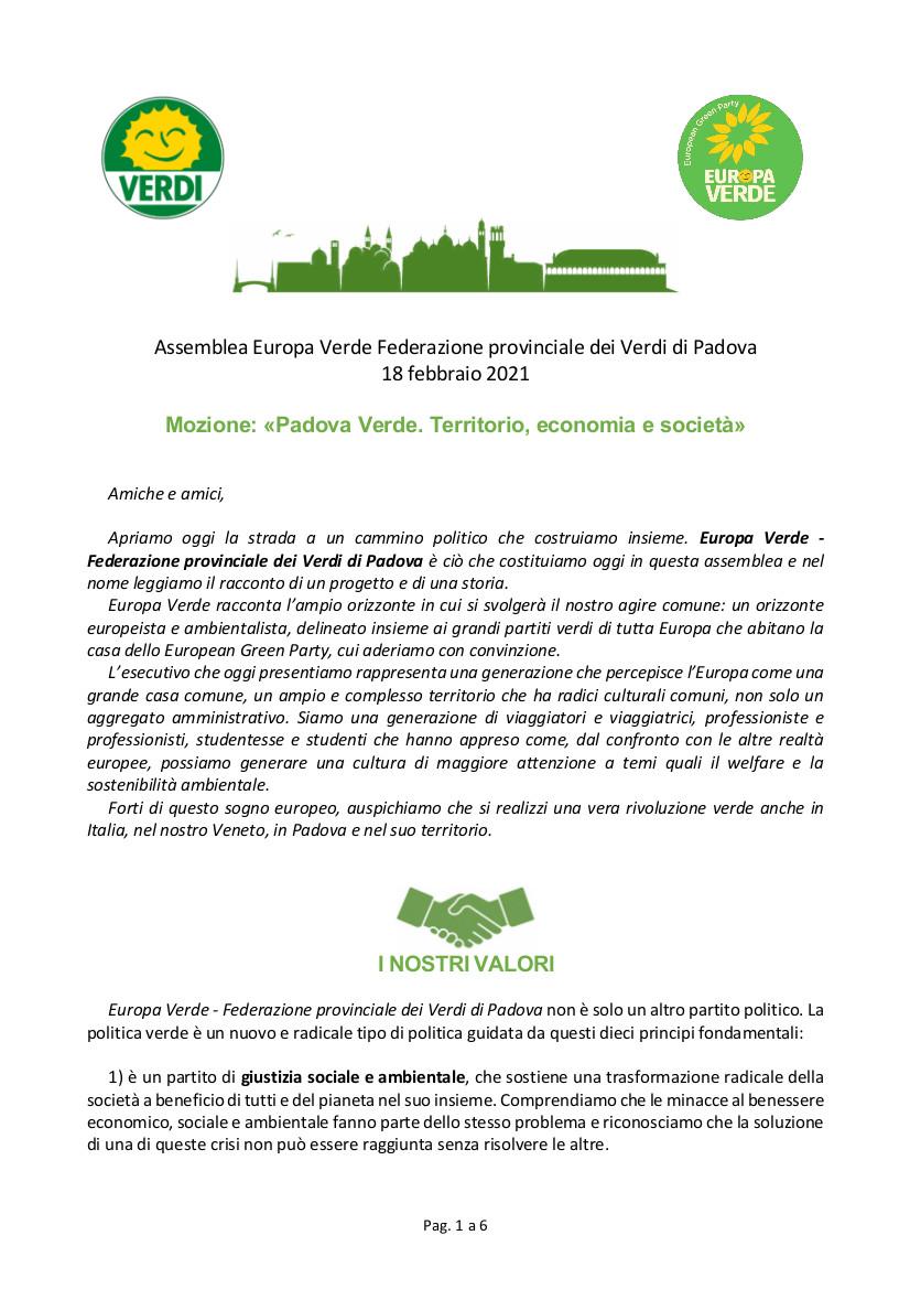 Mozione-costituzione-Verdi-Padova-febbraio-2021-pagina 1