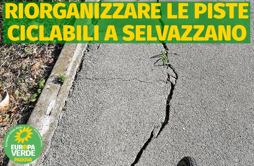 Piste ciclabili SElvazzano-provincia di Padova