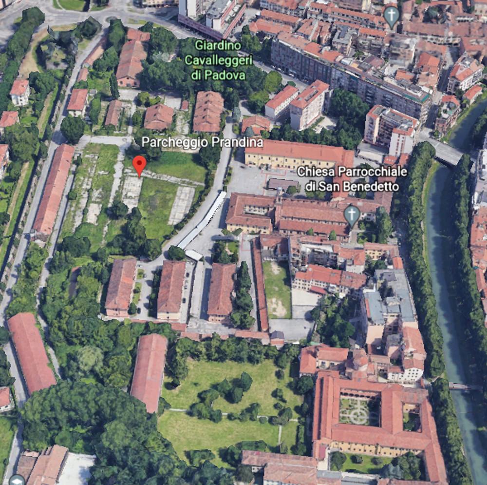ex Caserma Prandina deve essere inserita nel progetto del Parco delle Mura e delle Acque
